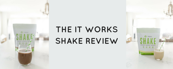 it works shake review