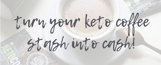 keto coffee cash