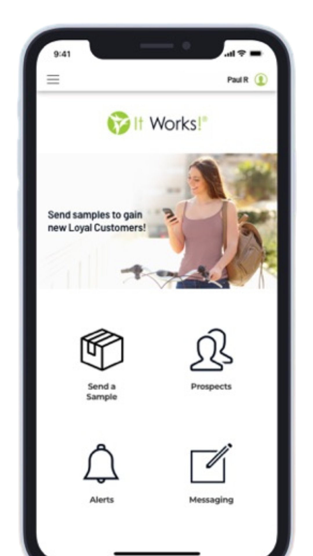 it works sample app